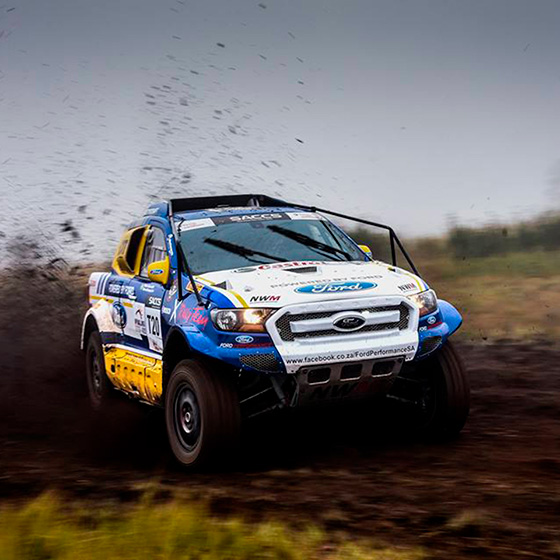 X Rally Team racing in two continents