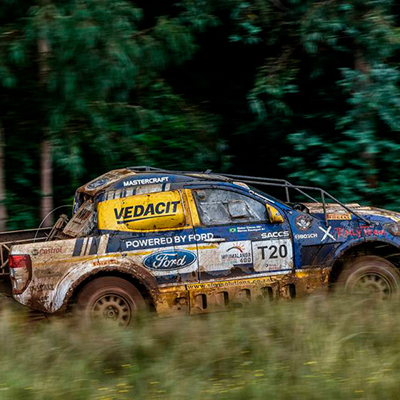 Dupla do X Rally Team vai ao pódio na África do Sul