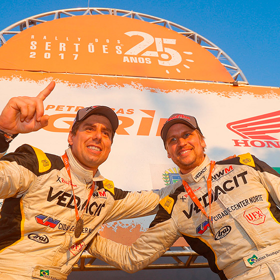 X Rally Team win the Sertões for the second time in a row