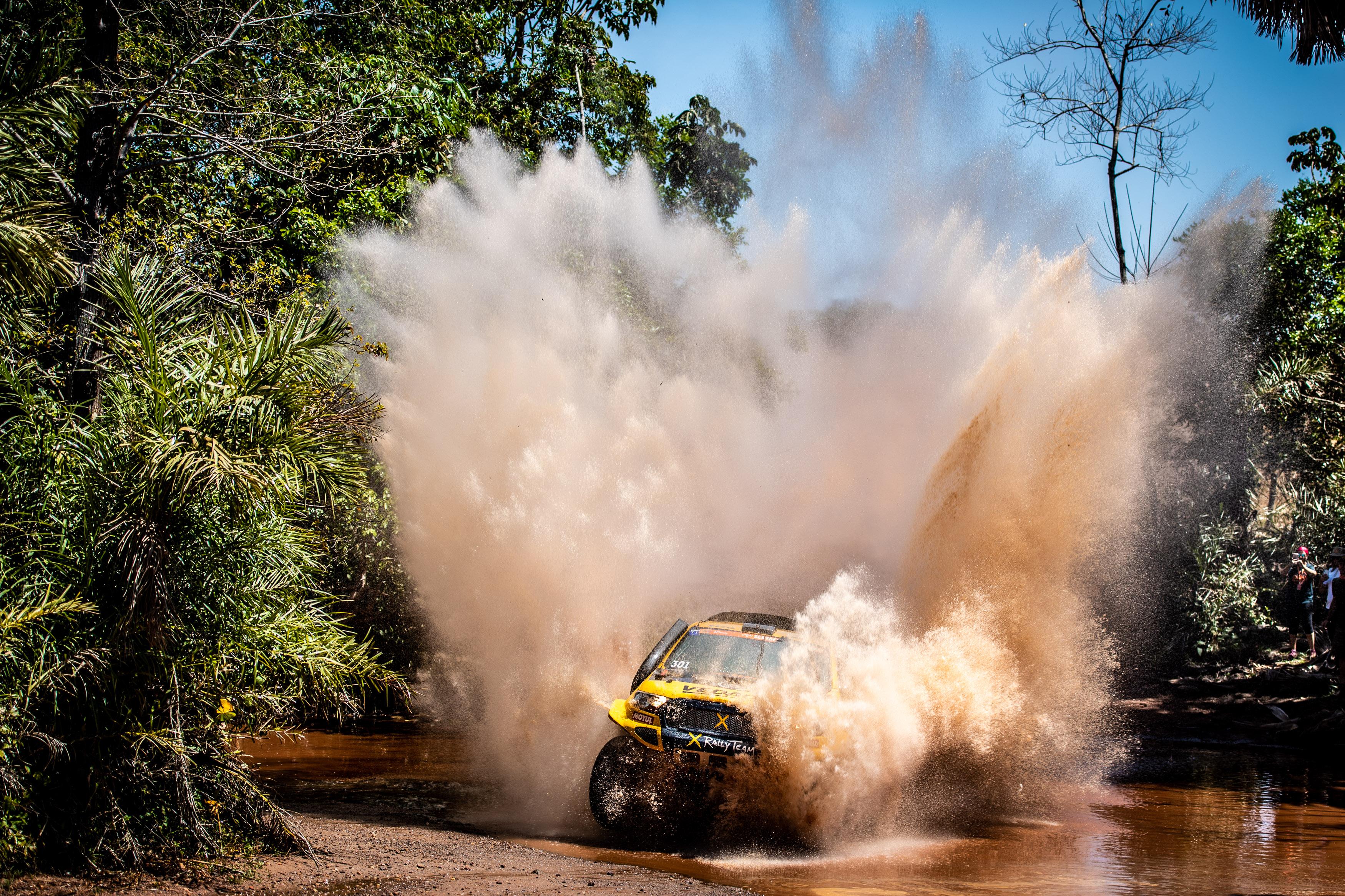 Duplas da X Rally Team focam no ataque para o sexto dia do Sertões