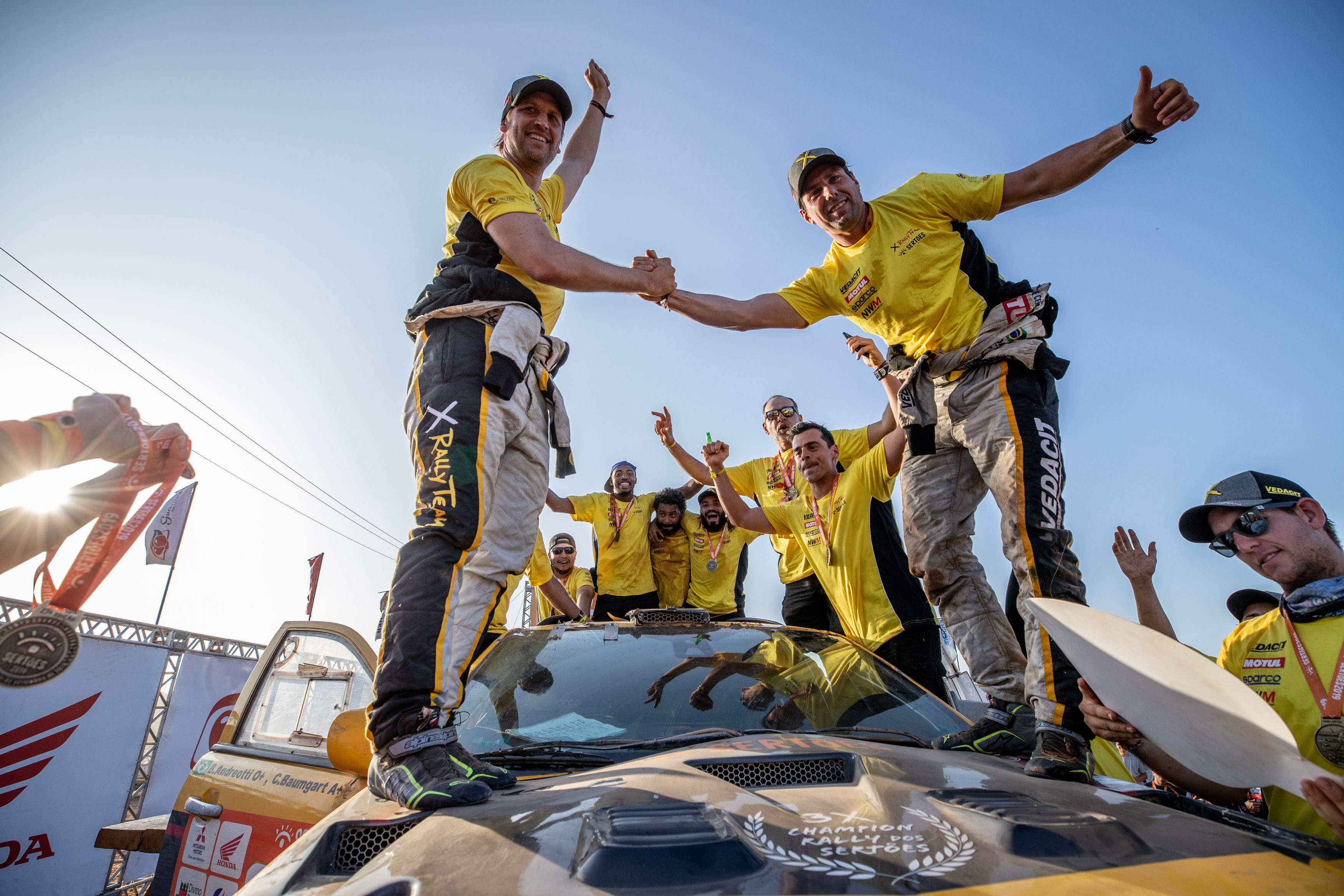 NWM-X Rally partnership wins fourth Sertões in a row