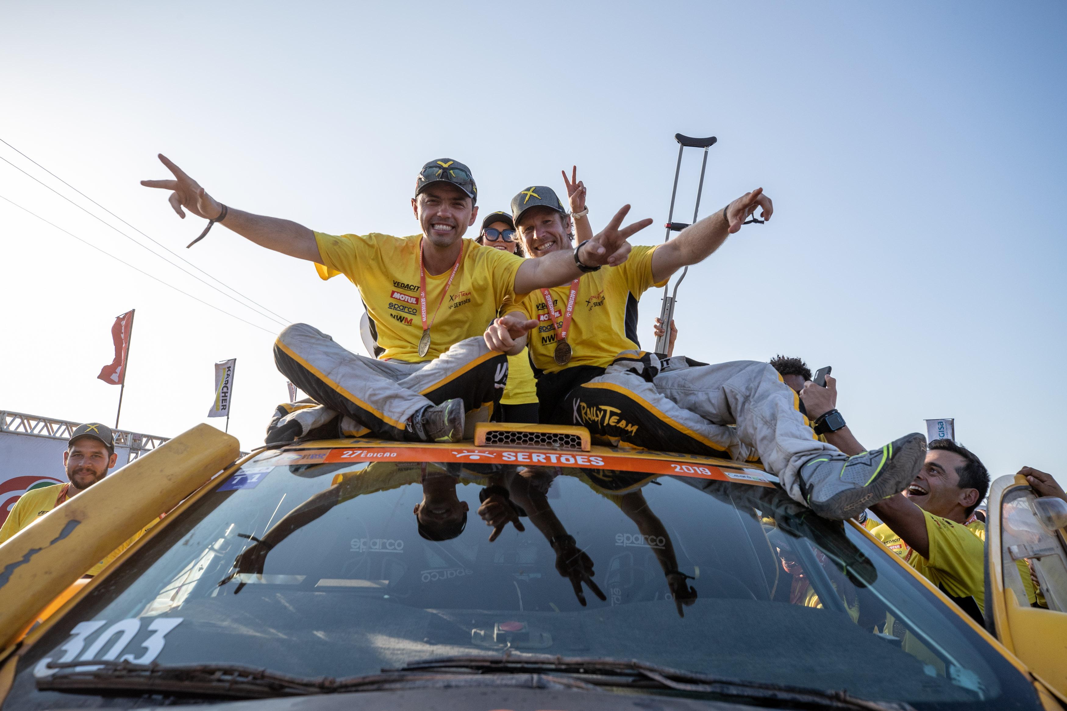 Marcos Baumgart e Kleber Cincea conquistam o tricampeonato brasileiro e o título sul-americano