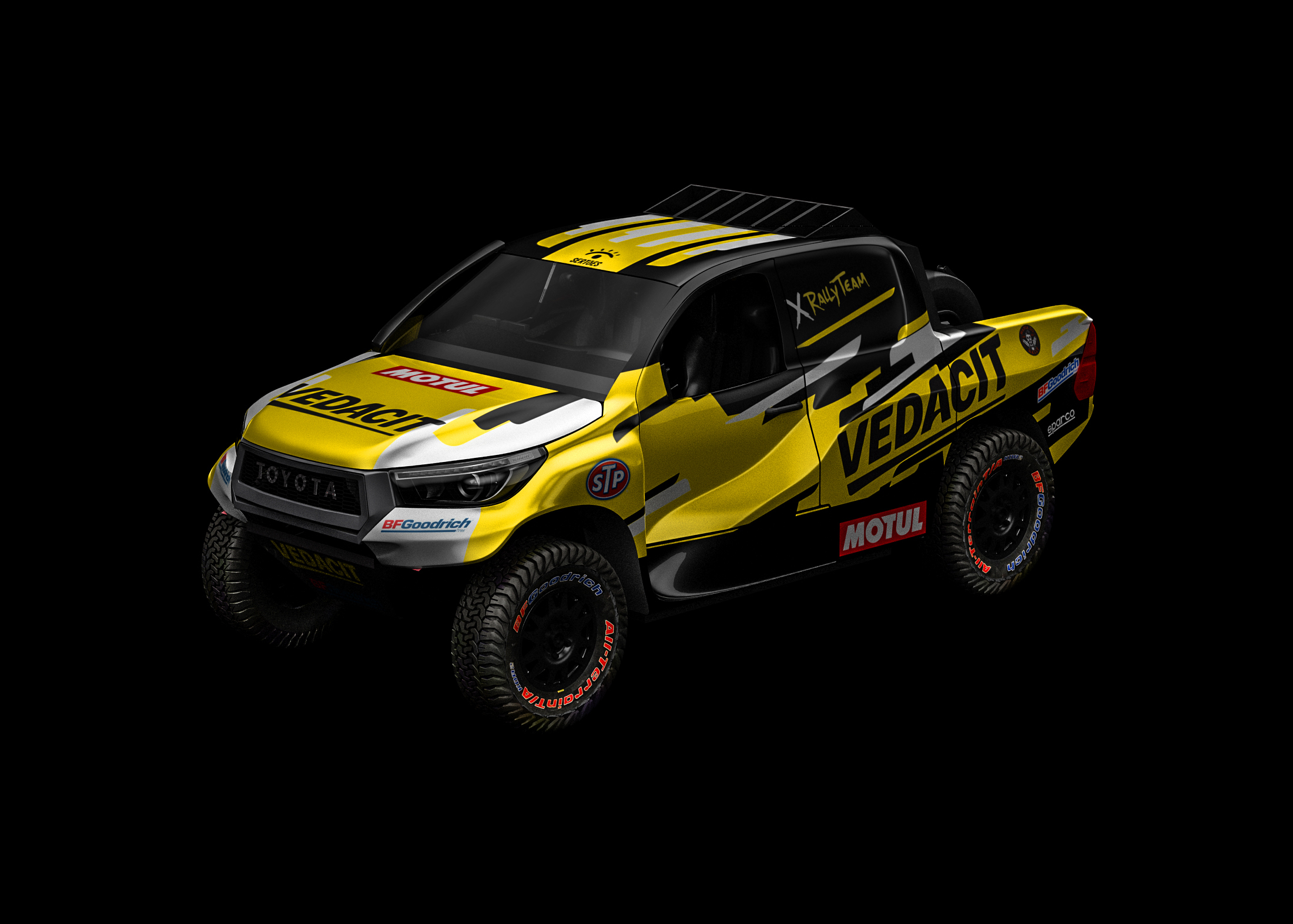 X Rally Team to run Overdrive Toyota Hilux in the Sertões