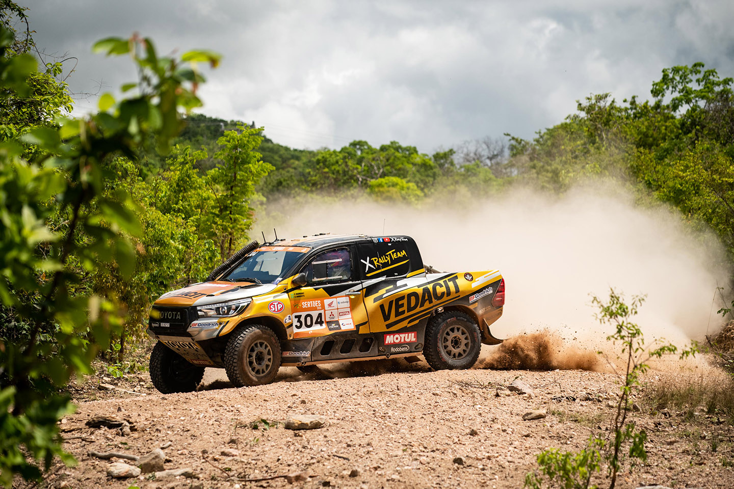 Sertões: X Rally Team wins another special stage with Marcos Baumgart / Kleber Cincea