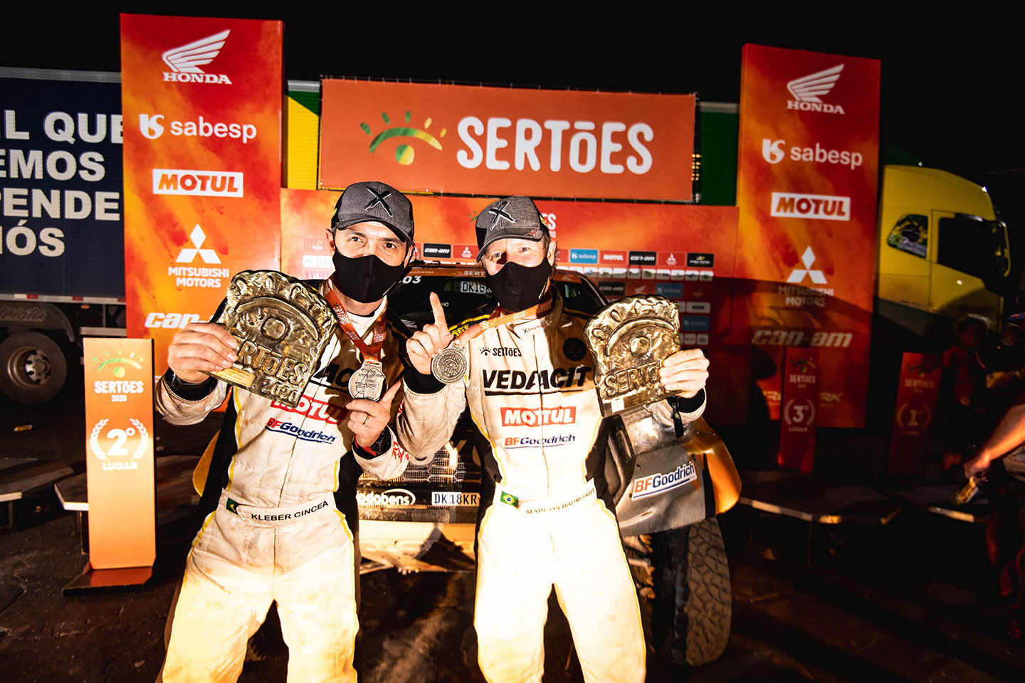 X Rally Team supremacy: Baumgart/Cincea win the Sertões for the first time in team's 1-2-3