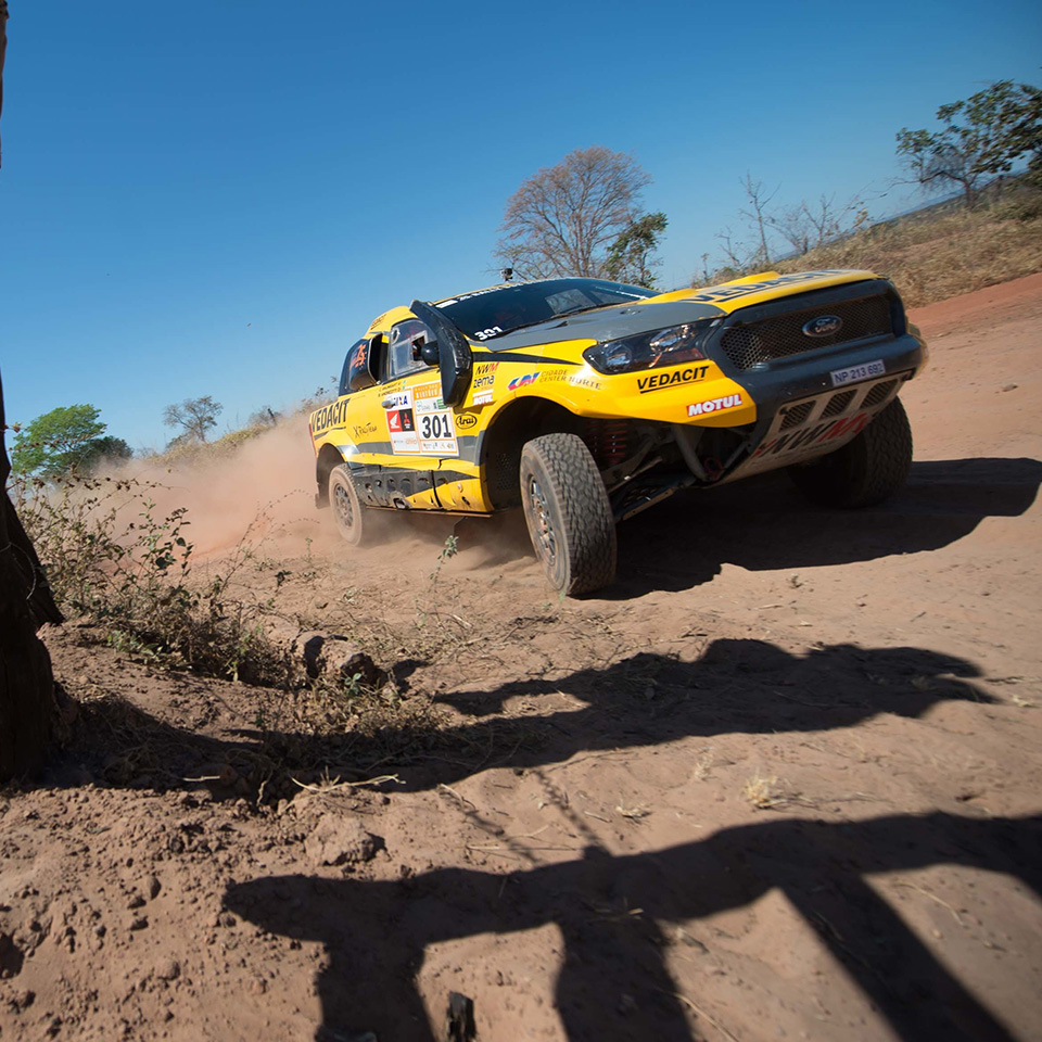 NWM-Ford Ranger keeping it safe in the Sertões