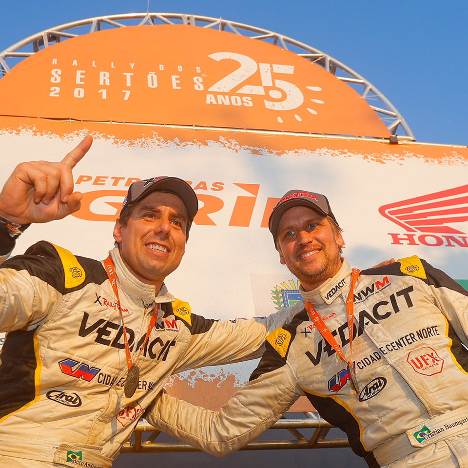 NWM/X Rally Team conquering the Sertões. Again.
