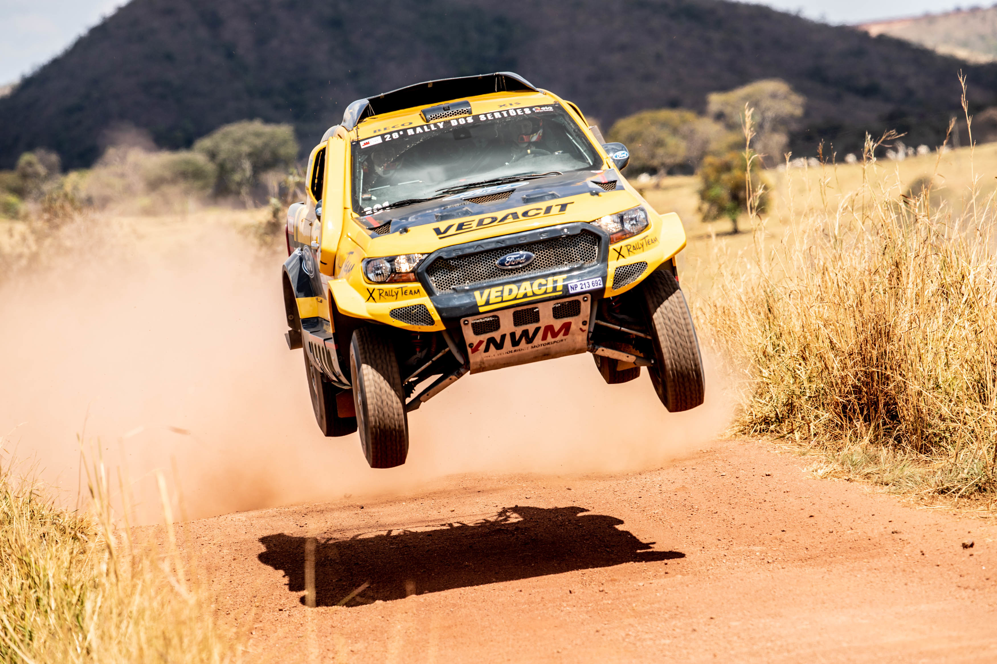 NWM-X Rally Team leading the Sertões