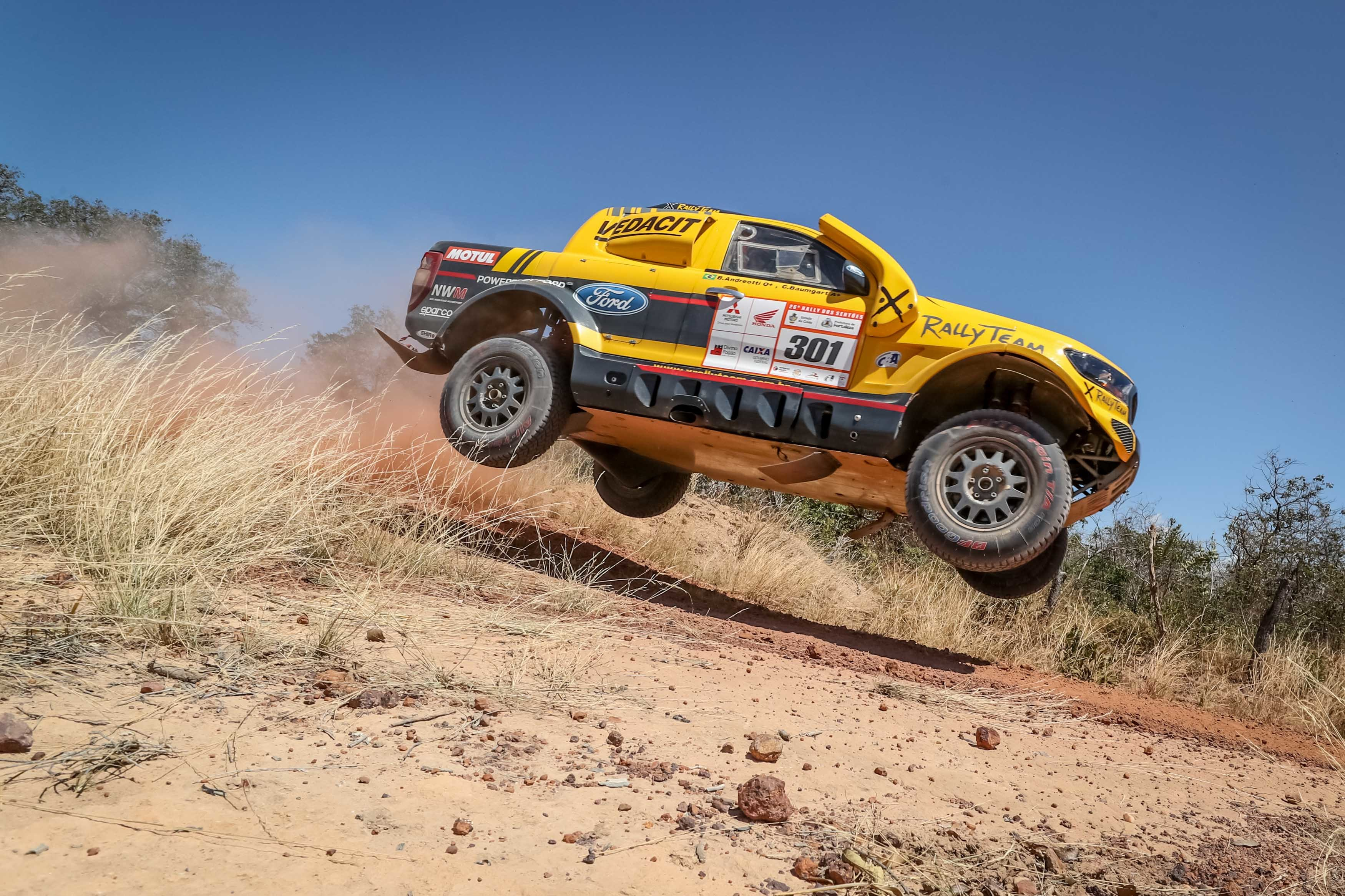 NWM-X Rally Ford Rangers ahead of competition