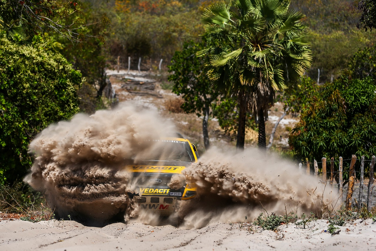 Sertões: NWM/X Rally Team keep Ford Ranger 1-2 overall