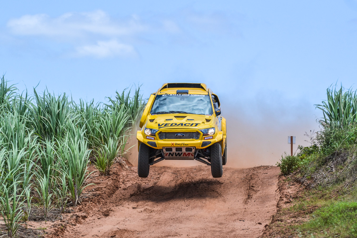 X Rally Team in the opening round of Brazilian CC Championship