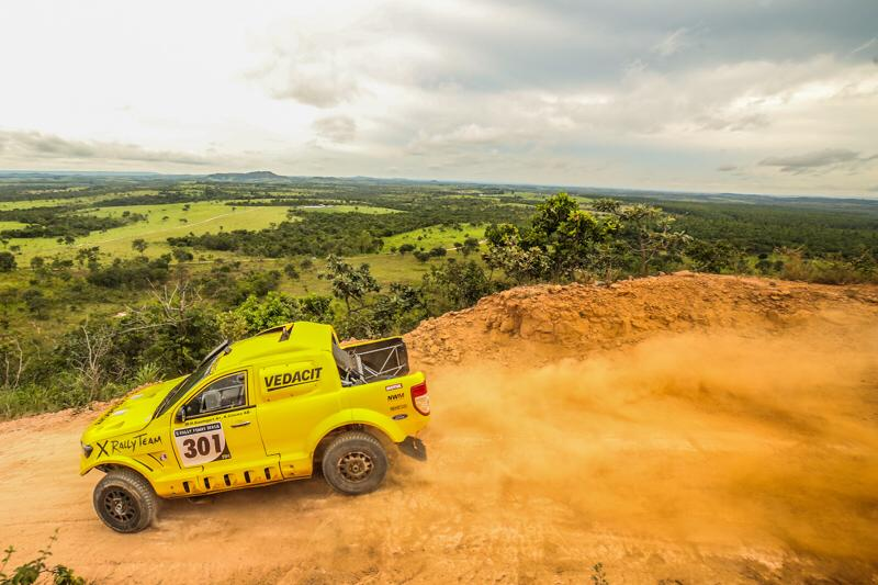 X Rally 1-2 in the Brazilian CC round