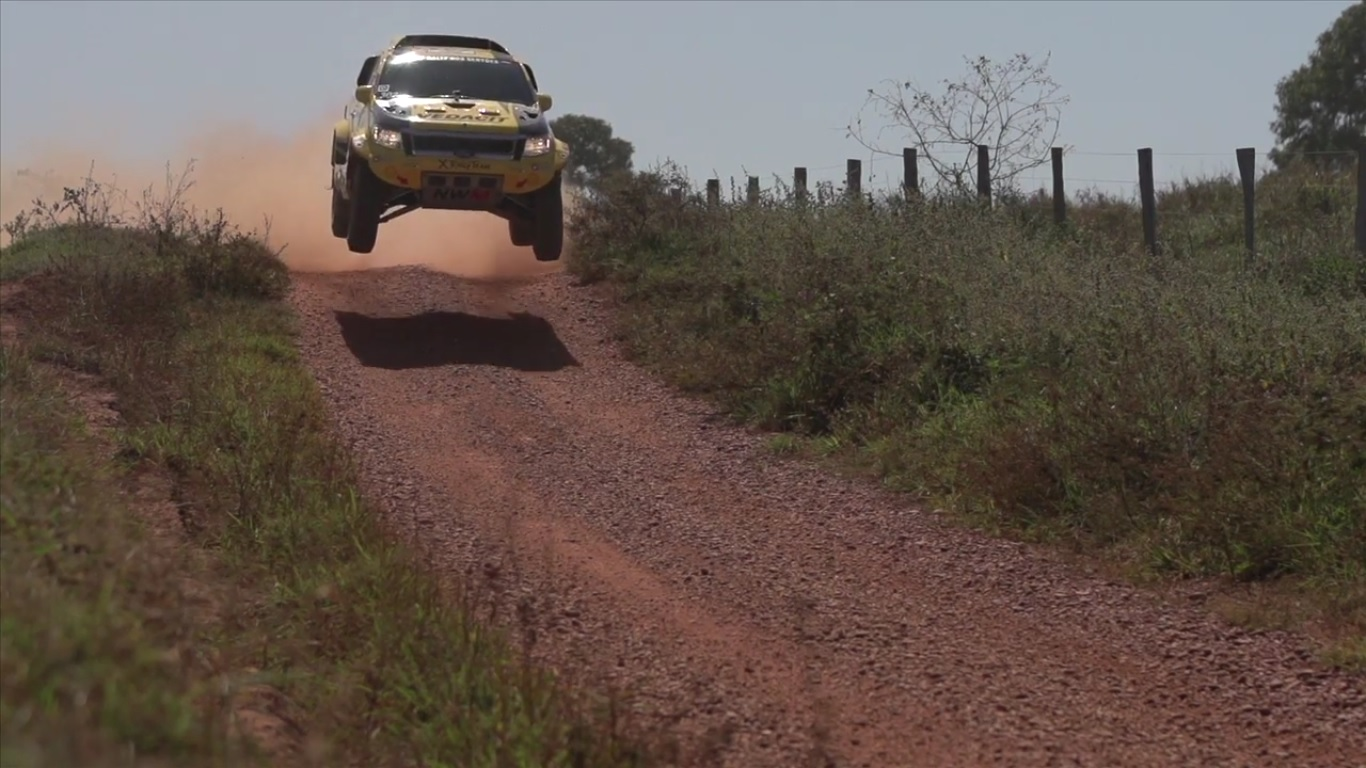 Physical demands in a rally car