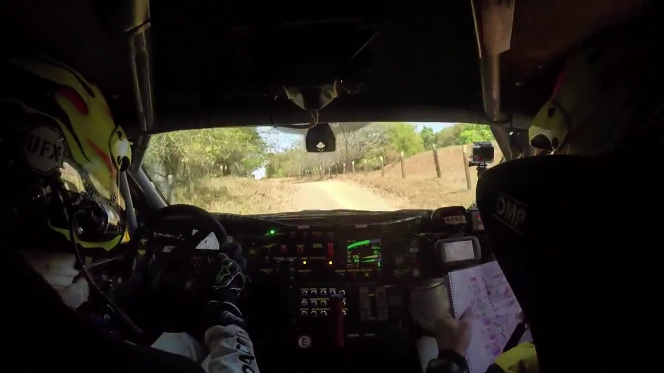 Ride onboard with X Rally Team!